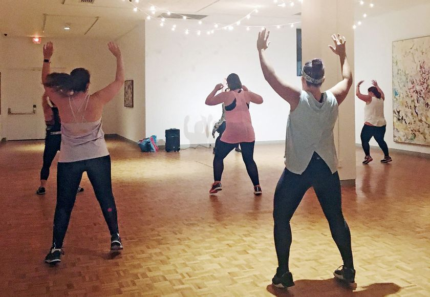Downtown Zumba Makes Popular Return