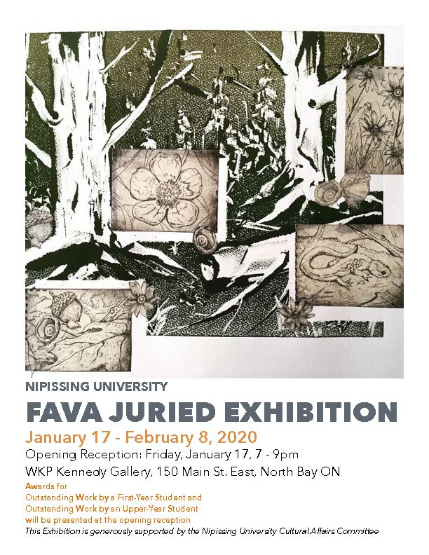 Nipissing University FAVA Juried Exhibition