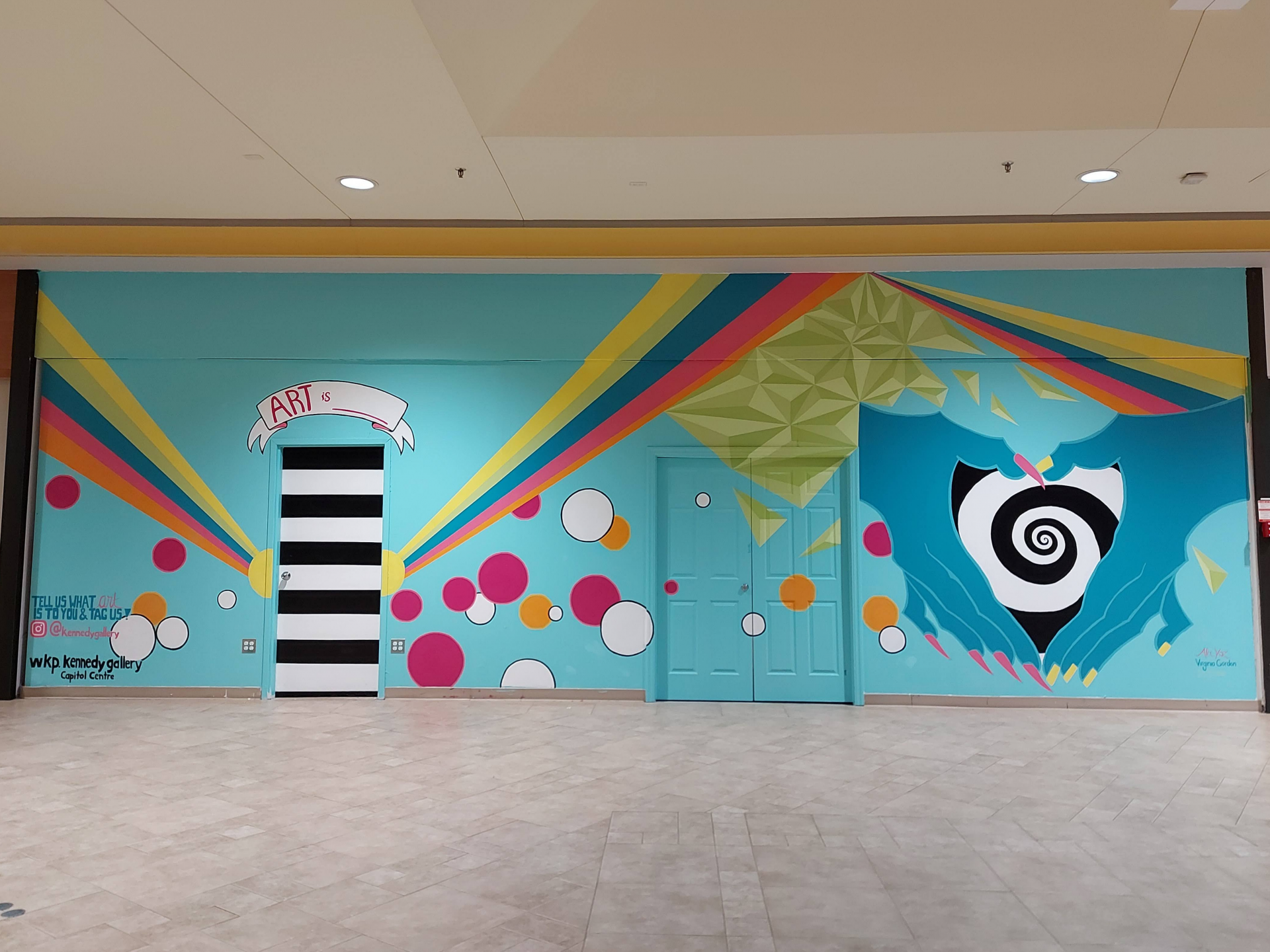 Mural at the Northgate Shopping Centre